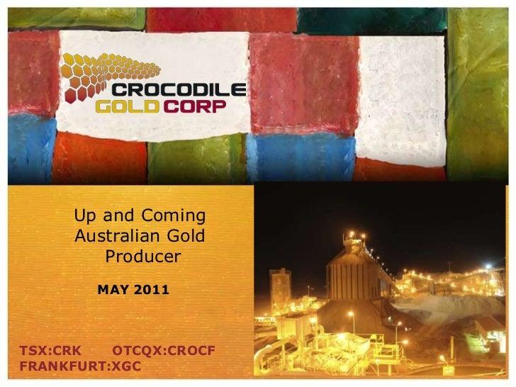 CRK AGM presentation May 18  2011