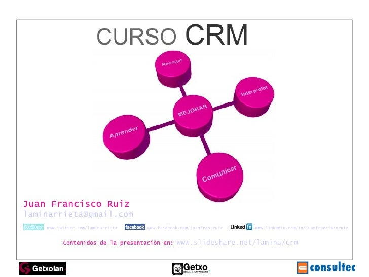 Juan Francisco Ruiz [email_address]   www.twitter.com/laminarrieta   www.facebook.com/juanfran.ruiz   www.linkedin.com/in/...