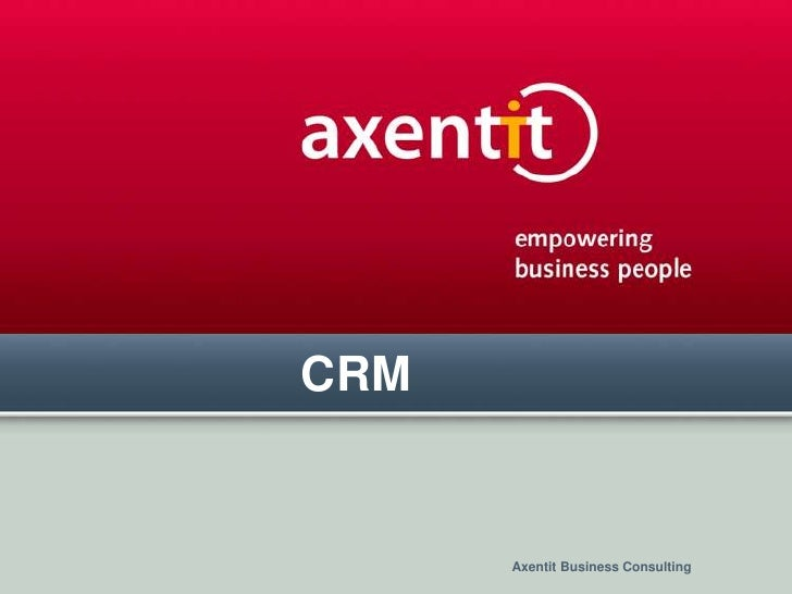 CRM<br />