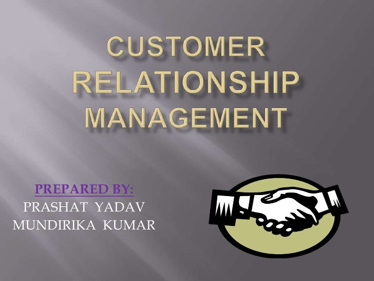 ppt of crm