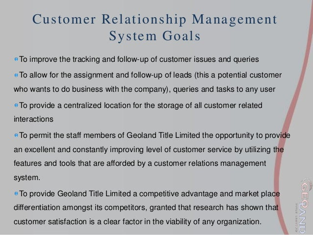 What does a person with a Customer Relations title do?