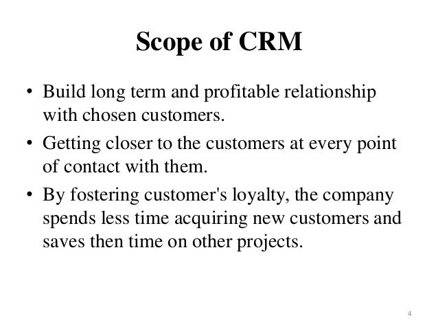 examples of customer relationship management Understanding customer relationship management (crm) people, process and technology injazz j chen and karen popovich the following examples highlight some of.
