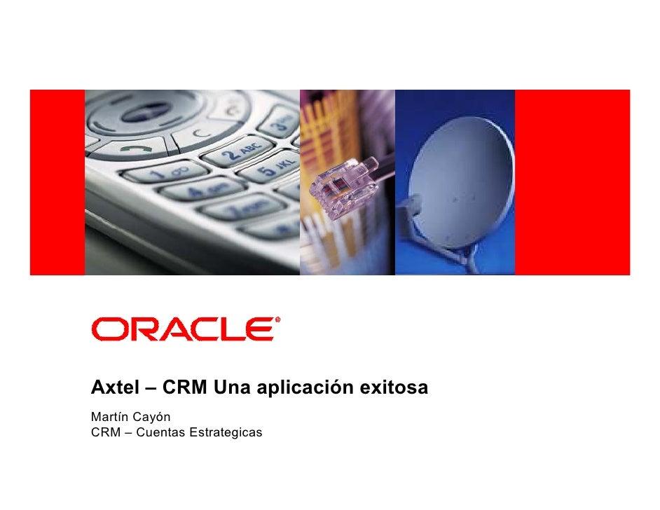 CRM, una aplicacion exitosa