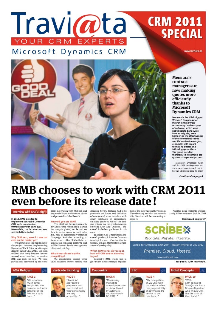 TRAVIATA Newspaper: CRM2011 special