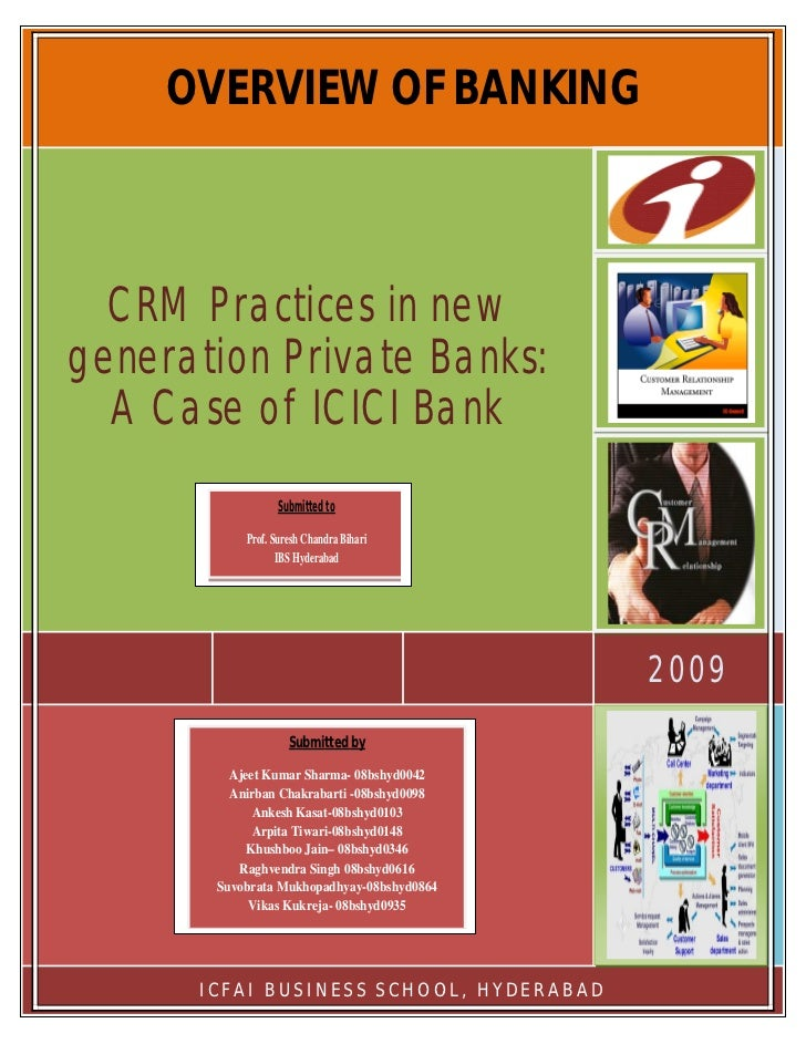 Crm Practices in Banking