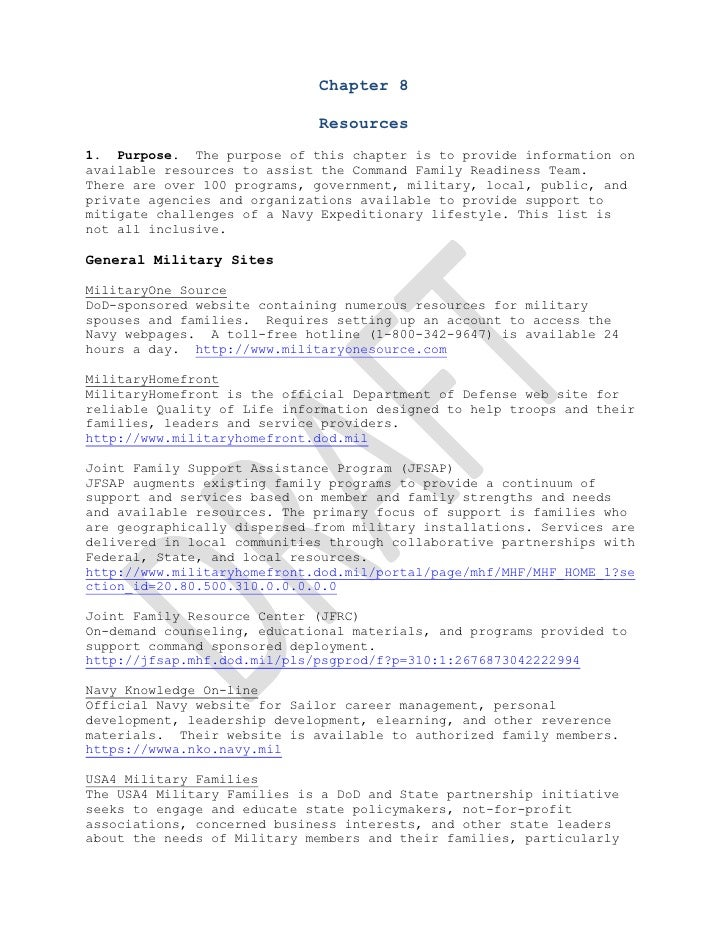 Crm chapter 8 v201100912 v draft frs