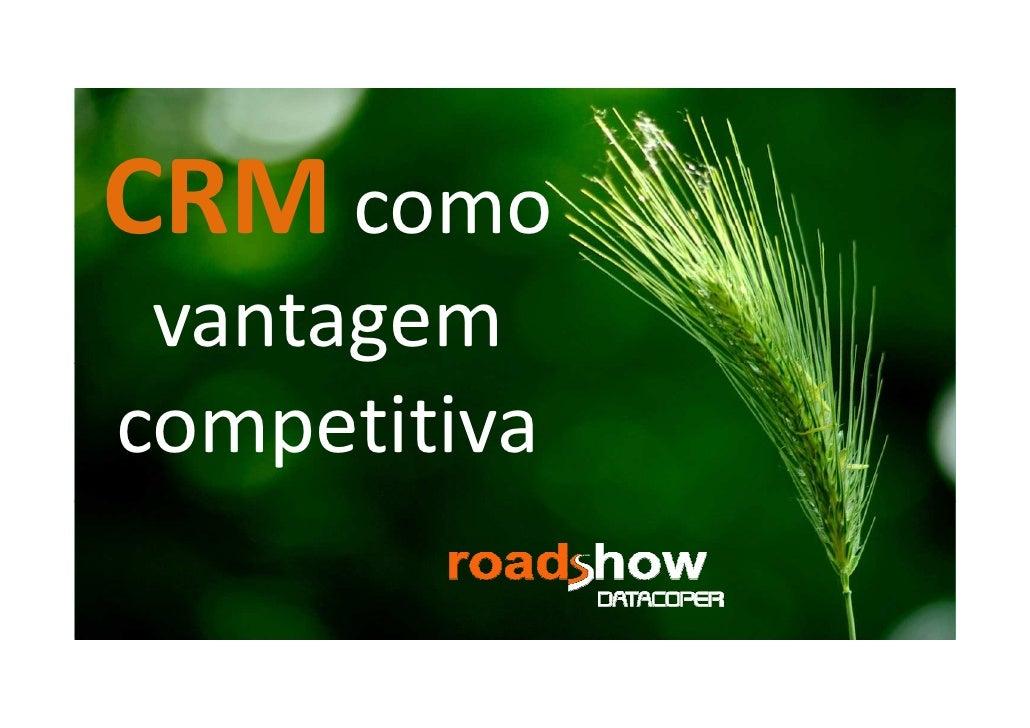 CRM como vantagemcompetitiva