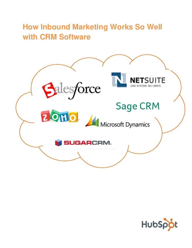 How Inbound Marketing Works So Well with CRM Software