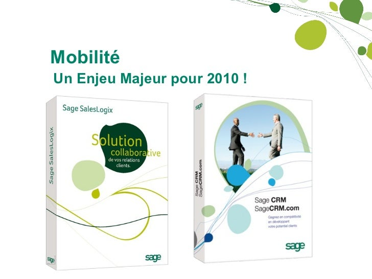 Mobilité Un Enjeu Majeur pour 2010 !
