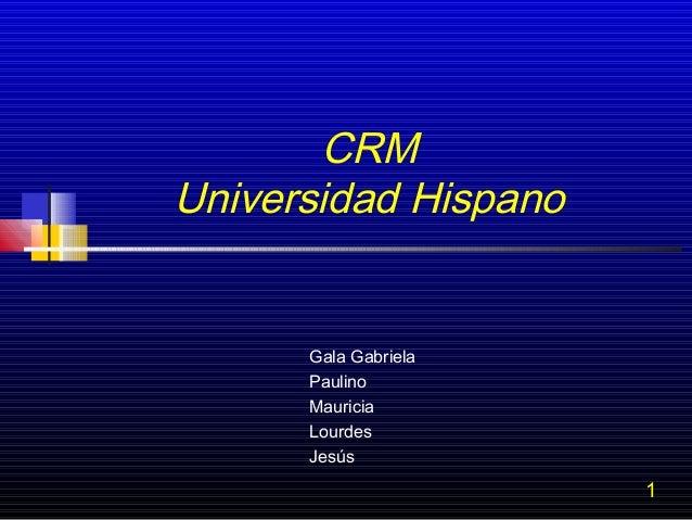 CRM exposición equipo 01