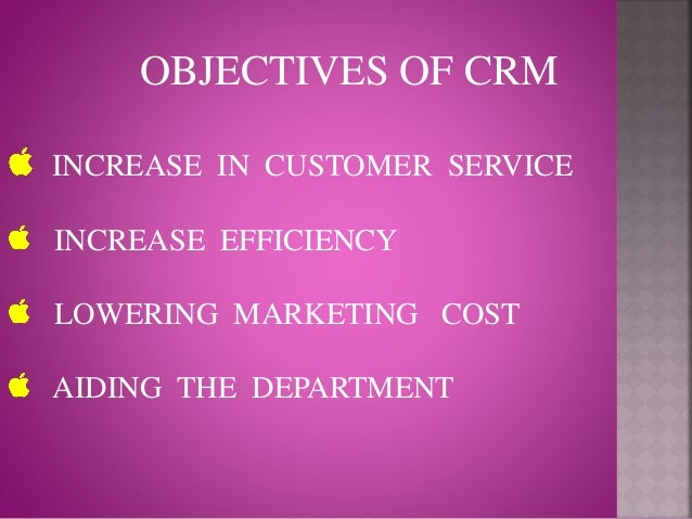 Literature review on crm