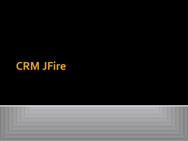 CRM JFire