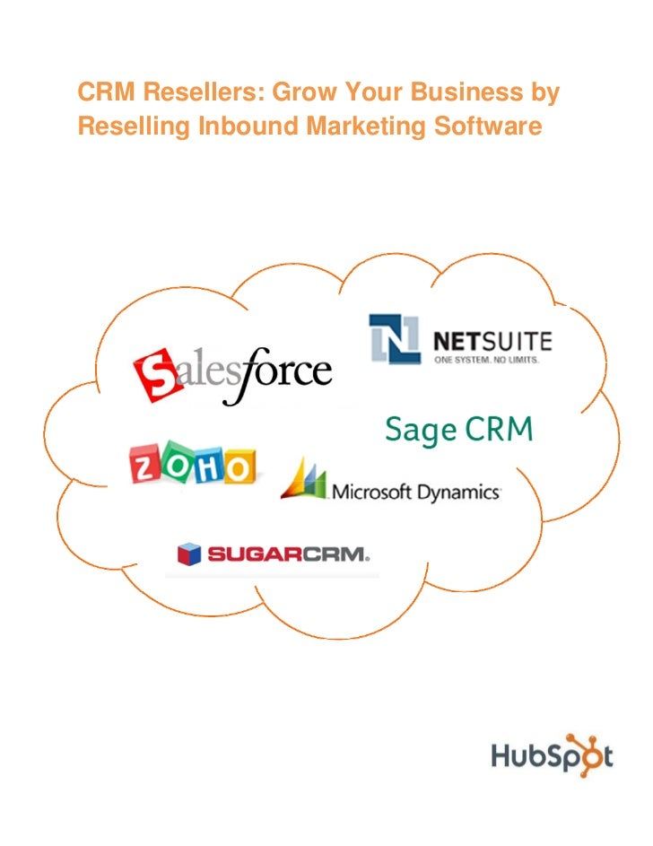 CRM Resellers: Grow Your Business Using Inbound Marketing!