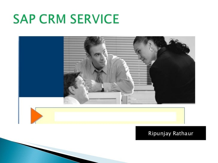 Crm service updated (PPT)