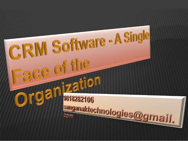 CRM is nowadays a single interface to establish contact with yourcustomers and various departments within and outside your...