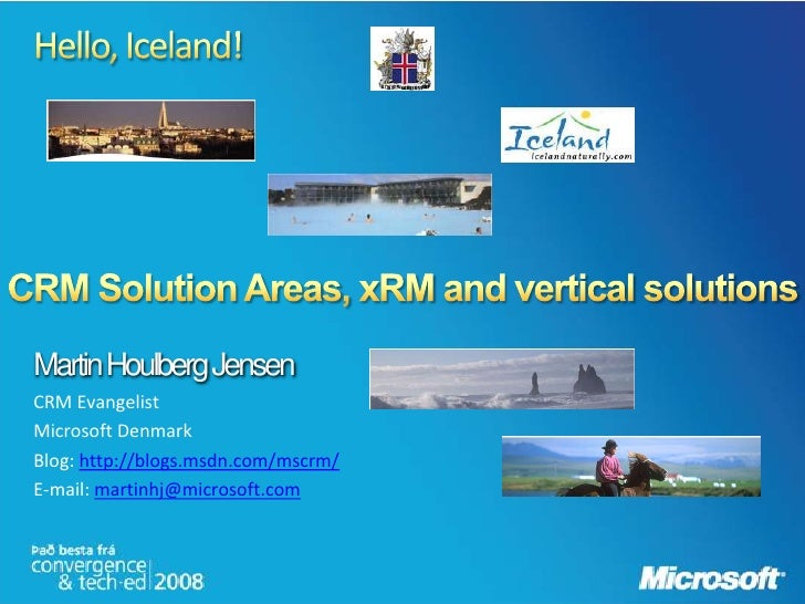 Crm Solution Areas X Rm And Vertical Solutions