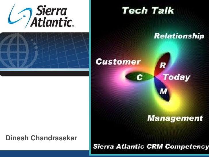 Crm Today Dinesh Chandrasekar