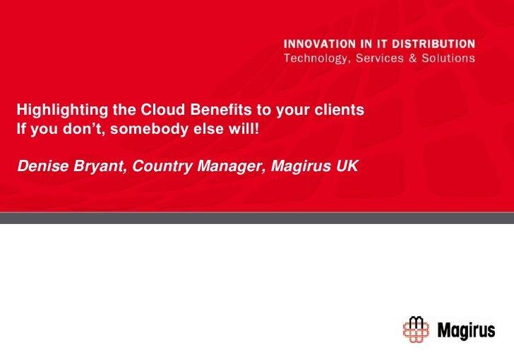 CRN Cloud Presentation   D Bryant