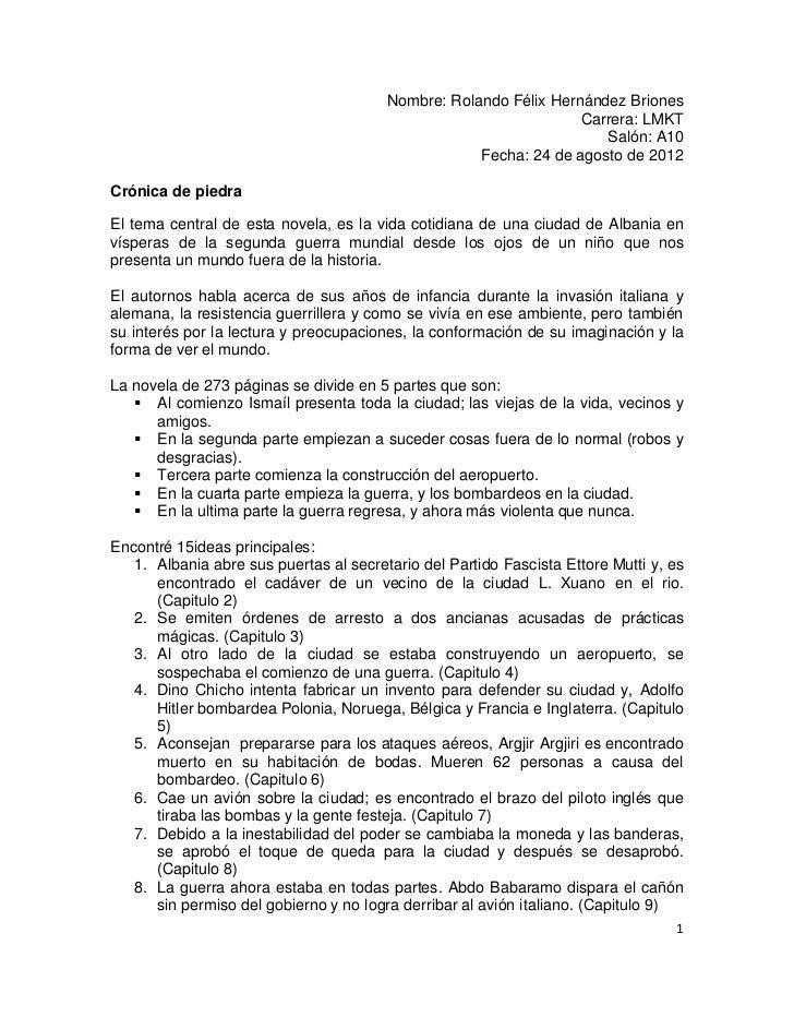 Nombre: Rolando Félix Hernández Briones                                                                  Carrera: LMKT    ...