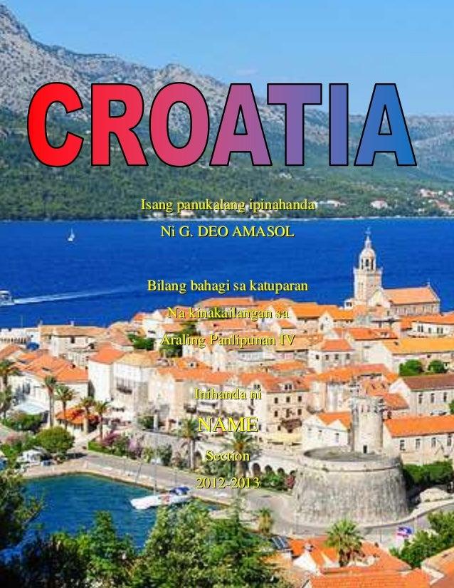 Croatia front