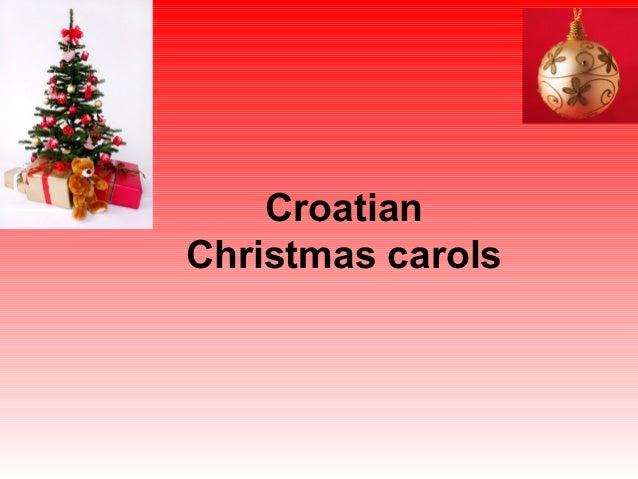 Croatian christmas carols
