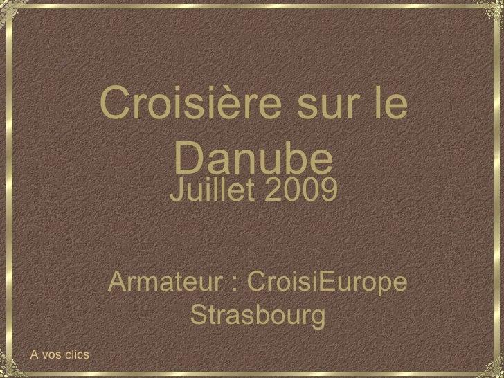 Croisire Sur Le Danube