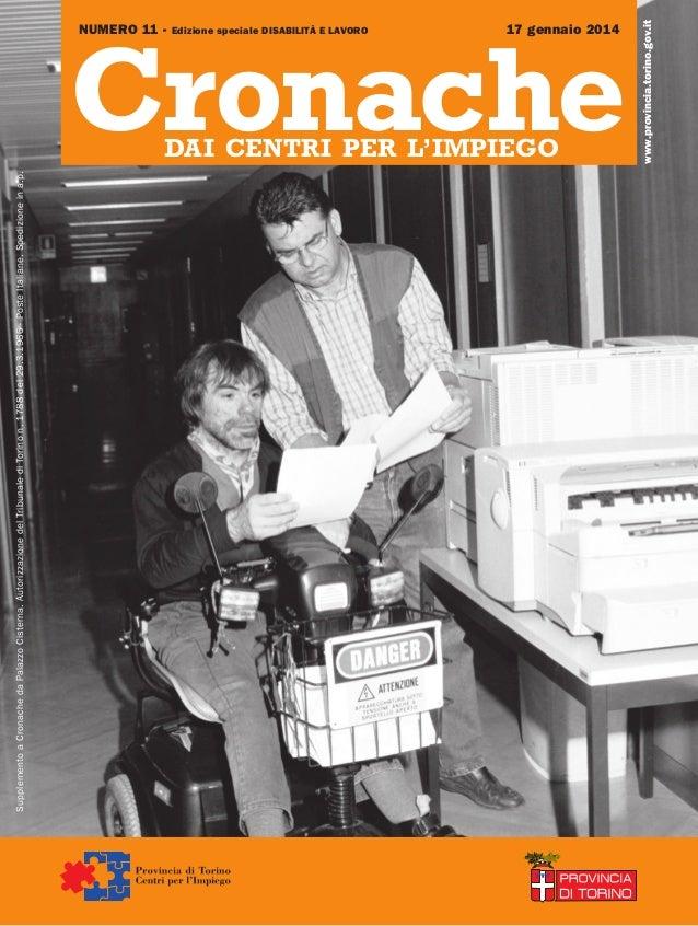 Cronache dai Centri per l'Impiego n 11/2014