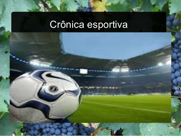 Crônica esportiva