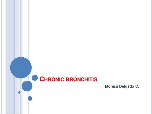 Cronic bronchitis