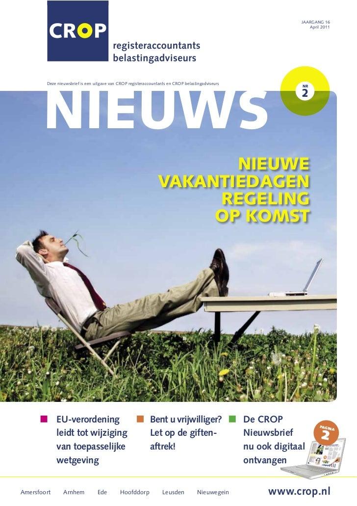 Crop nieuwsbrief 2 2011