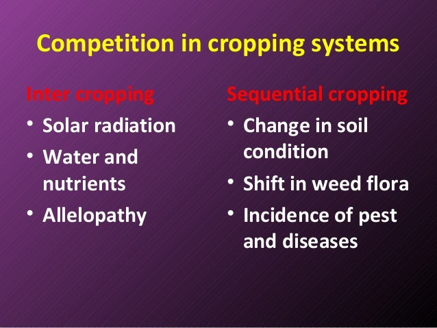 cropping systems However, so far, it is unclear if cover crop effects vary between different cropping  systems, and direct comparisons among major arable.