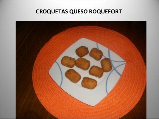 CROQUETAS QUESO ROQUEFORT