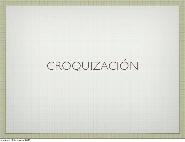 Croquizacion