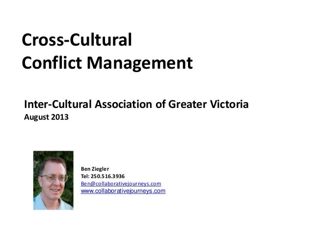 Cross Cultural Conflict Management