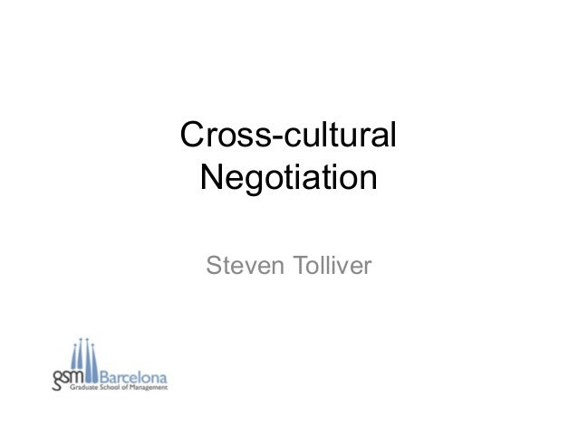 cross cultural negotiation Cross cultural conflict resolution in teams during negotiations rather than thinking that we should use our cross cultural communication skills when we.