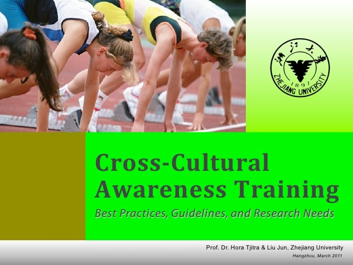 Cross-Cultural Training Best Practices, Guidelines, and Research Needs                                                    ...
