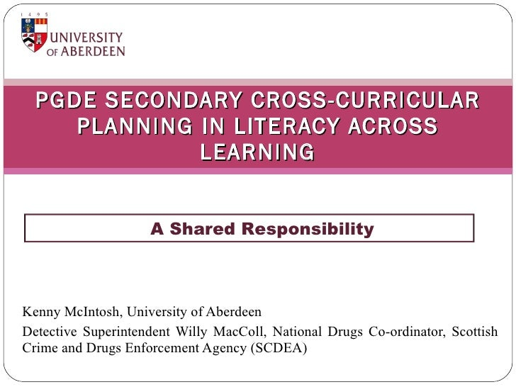 Cross-Curricular Planning in Literacy across Learning
