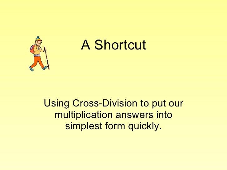 Cross Reducing