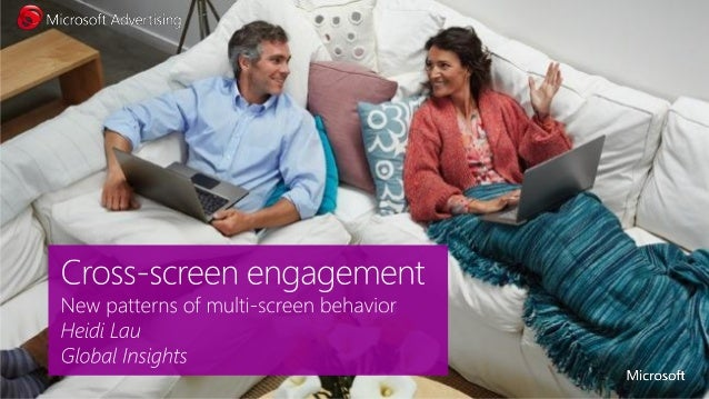 Consumers control their flow ofcontent …...and move through the worldwith multiple screens……so marketers must befluid, too...