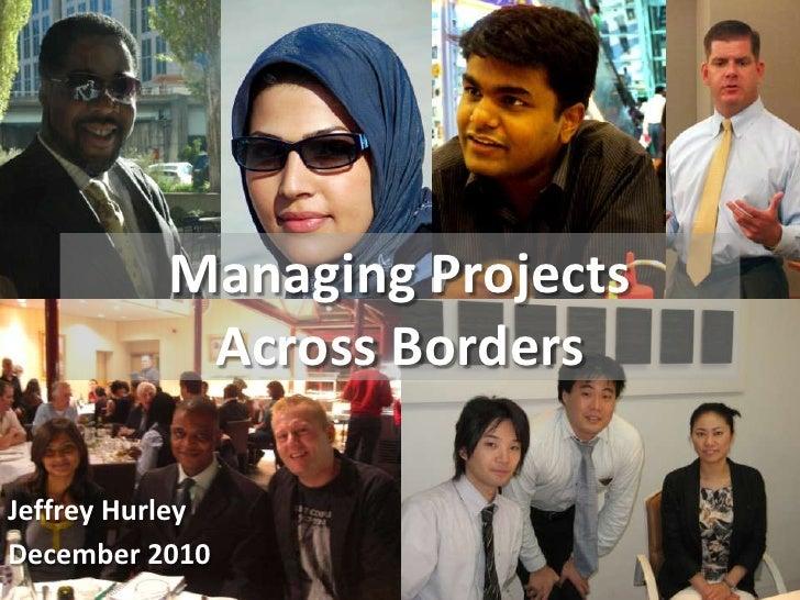Cross border project management