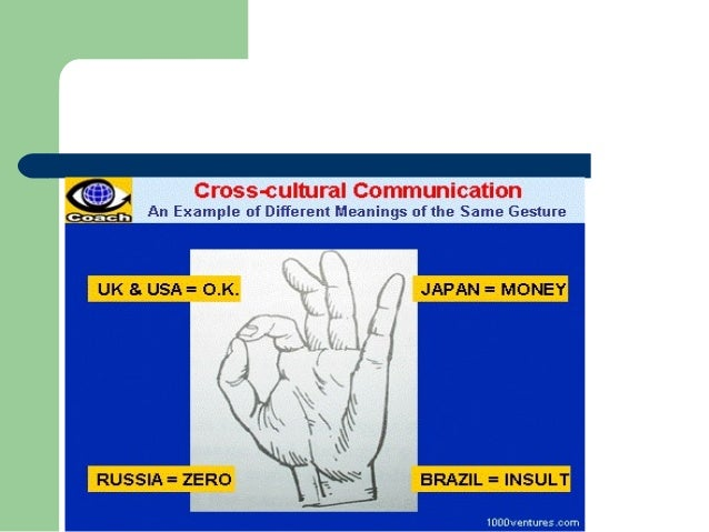 nonverbal communication across cultures cultural studies essay Cross cultural negotiations use of nonverbal communication use of what factors contribute to the success of the characters in communicating across cultures.