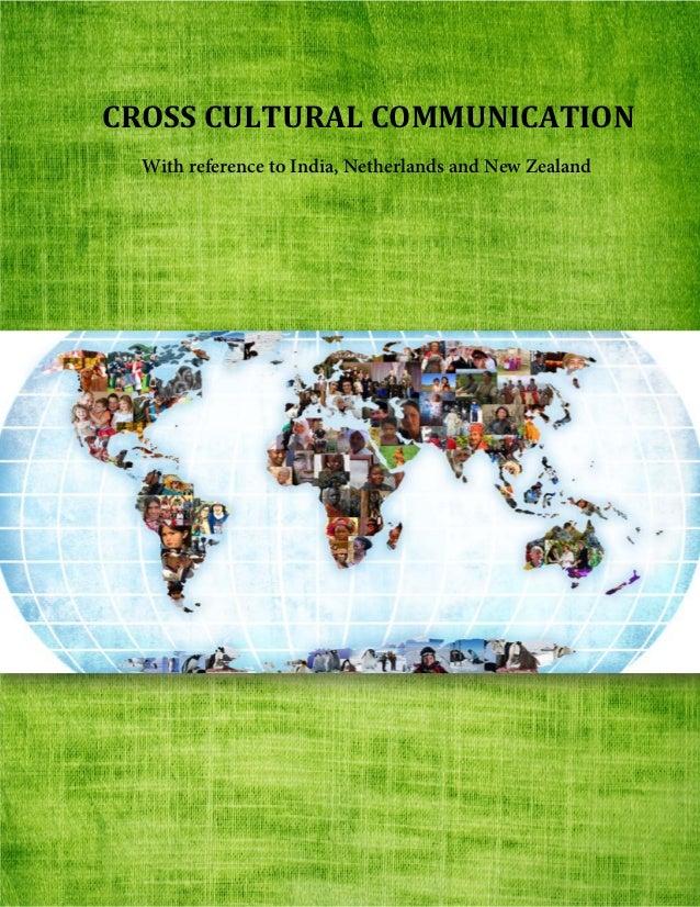 Cross Culture Dissertation