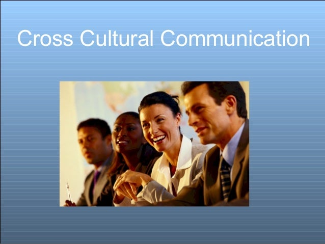 Cross cultural communication sunil074