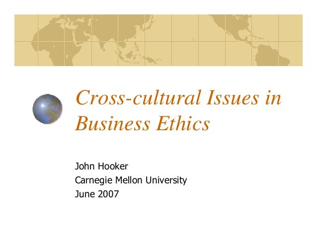 Cross Cultural Issues on Branding
