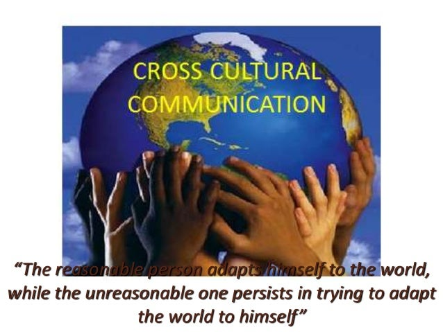 Cross culture communication -BY NAVIN MATO