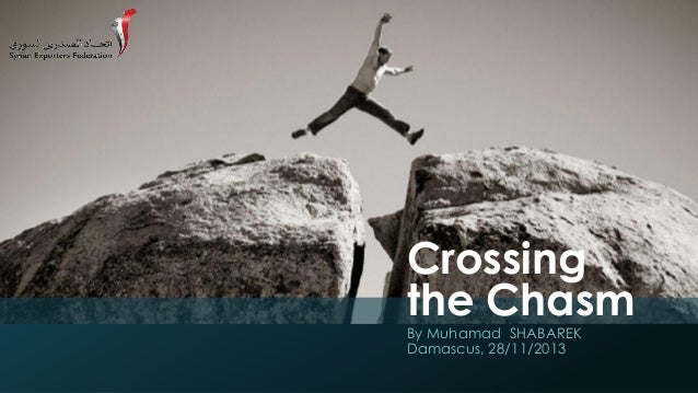Crossing the Chasm By Muhamad SHABAREK Damascus, 28/11/2013