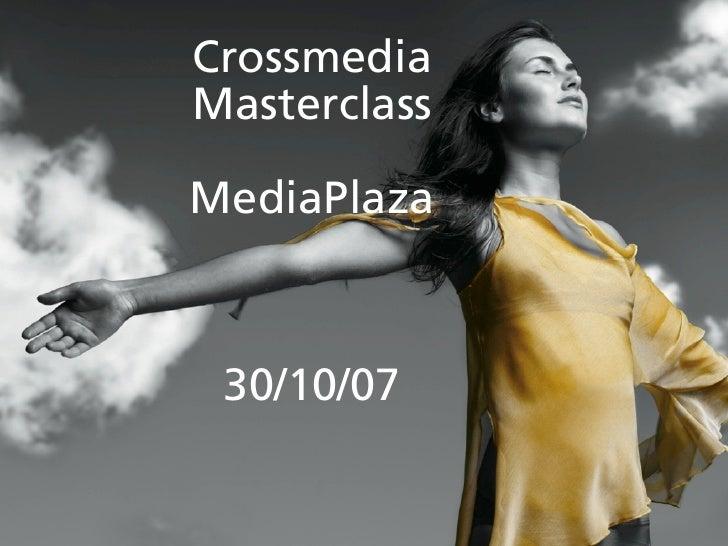 Crossmedia en de dagelijkse realiteit