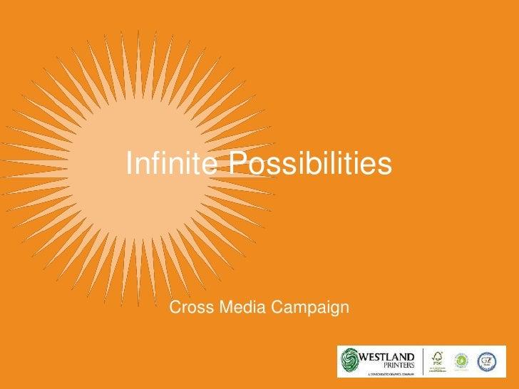 Infinite Possibilities<br />Cross Media Campaign<br />
