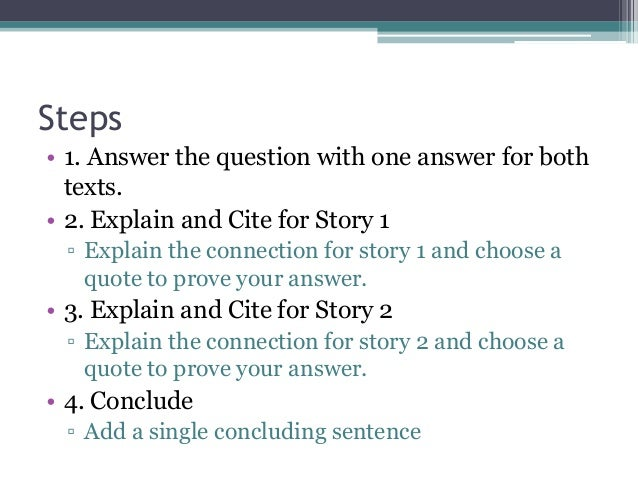 short essay response This video gives tips on how to answer short essay and constructed response questions using the race strategy.
