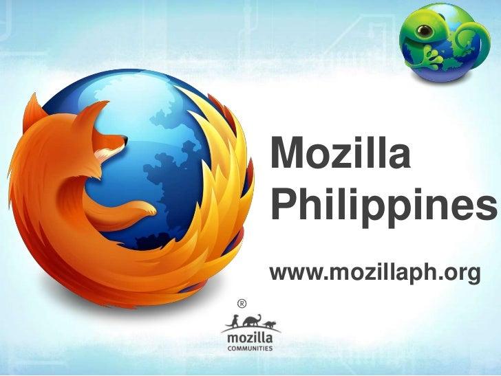 MozillaPhilippineswww.mozillaph.org